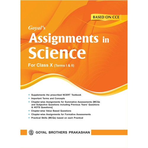 CBSE Chapterwise Assignments Based on CCE